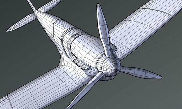 Modeling Pesawat Terbang